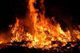 Osterfeuer im Harz