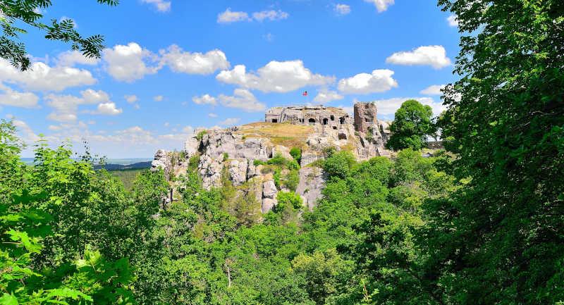 Burg und Festung Regenstein bei Blankenburg (Harz)